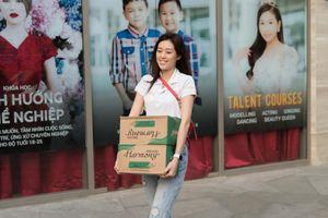 Hoa hậu Khánh Vân tích cực hoạt động thiện nguyện ngày giáp Tết