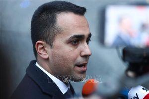 Bộ trưởng Ngoại giao Italy tuyên bố từ chức lãnh đạo đảng M5S