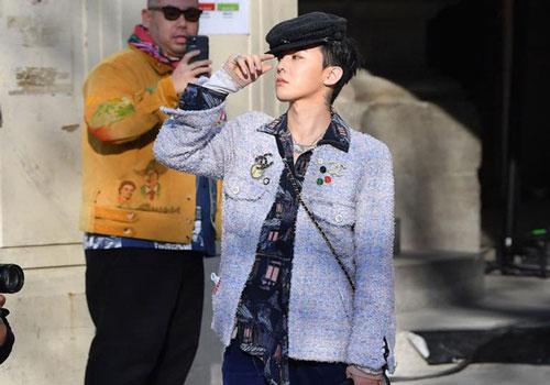G-Dragon xuất hiện ấn tượng tại Paris