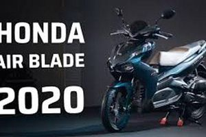 Bảng giá xe Honda Air Blade 2020 mới nhất tháng 1/2019