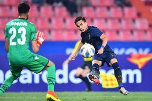 'Siêu dự bị' Thái Lan có cơ hội giành Vua phá lưới U23 châu Á 2020