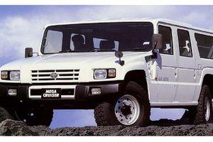 Chi tiết xe SUV 'khủng long' Toyota Mega Cruiser hàng hiếm