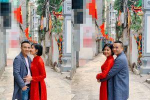 MC Hoàng Linh rạng rỡ bên chồng dịp đầu năm mới khiến ai cũng phải xuýt xoa