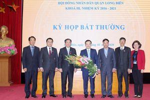 Quận Long Biên có Phó Chủ tịch UBND mới