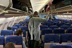Nguy cơ từ những người sơ tán khỏi Vũ Hán trên các chuyến bay