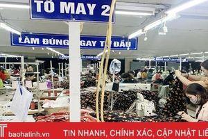 Doanh nghiệp Hà Tĩnh 'thở phào' vì lao động đúng hẹn