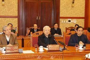 Tổng Bí thư, Chủ tịch nước Nguyễn Phú Trọng yêu cầu bảo đảm cuộc sống bình yên của nhân dân