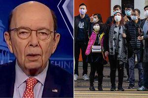 Nói virus corona tốt cho kinh tế, Bộ trưởng Thương mại Mỹ bị chỉ trích nặng nề