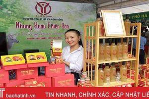 Chương trình OCOP nâng tầm giá trị nông sản Hà Tĩnh