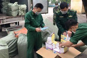 Phát hiện nhiều đối tượng vận chuyển khẩu trang y tế sang Trung Quốc bán kiếm lời