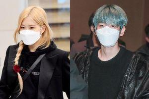BlackPink, EXO phối đồ sành điệu cùng khẩu trang tại sân bay