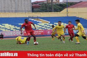Thanh Hóa không thể thắng Sông Lam Nghệ An trong loạt trận giao hữu