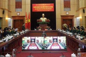 Tiếp tục hoàn chỉnh Dự án Luật Biên phòng Việt Nam