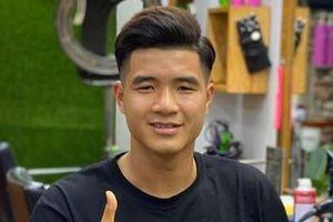 Hà Đức Chinh khoe ảnh tóc mới, tự nhận mình đẹp trai