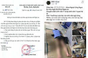 Vụ bác sĩ bị tố ôm sinh viên ngủ, bệnh viện kết luận 'diễn ra trong vô thức'