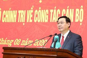 Thường trực Ban Bí thư phát biểu về việc bổ nhiệm Bí thư Thành ủy HN