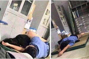 Kết luận của bệnh viện vụ bác sĩ ôm sinh viên ngủ trong ca trực