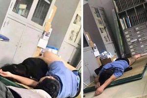 Thông tin mới nhất vụ bác sĩ mặc quần xì ôm nữ sinh viên thực tập ngủ trong ca trực