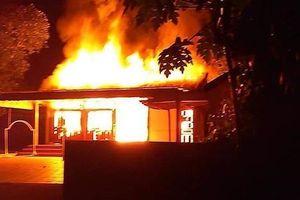 Huế: 3 cha con chết cháy trong một ngôi nhà