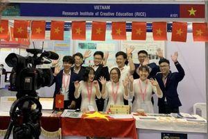 Học sinh Việt Nam giành giải nhất tại cuộc thi phát minh, sáng chế quốc tế 2020