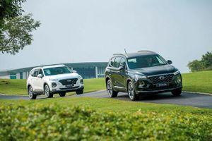 Giá lăn bánh kèm khuyến mãi của Hyundai Santa Fe tháng 2/2020