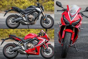 Đánh giá chi tiết Honda CBR650R và CB650R 2019
