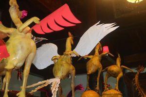 Độc đáo mâm cúng 'phi đội gà bay' trong ngày Rằm tháng Giêng ở Hà Tĩnh