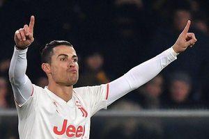 Ronaldo lập công, Juventus vẫn thua ngược cay đắng
