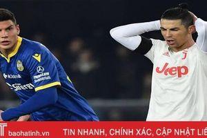 Ronaldo tỏa sáng, Juve vẫn để đội mới lên hạng tạo địa chấn