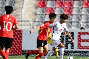 Hàng thủ mắc lỗi, ĐTQG nữ Việt Nam để thua trước Hàn Quốc