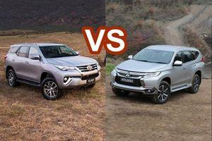 So sánh Toyota Fortuner và Mitsubishi Pajero Sport: Chọn xe SUV 7 chỗ nào?