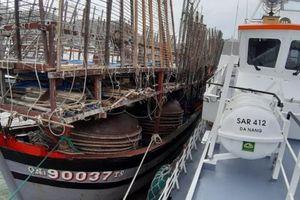 Cứu nạn thành công 40 thuyền viên tàu Quảng Nam trôi dạt trên biển
