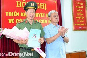 Tin nhân sự, lãnh đạo mới tại Đồng Nai và TP.HCM