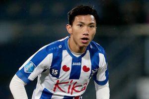 Văn Hậu đá chính trận Jong Heerenveen gặp Go Ahead Eagles