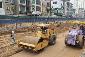 Dự án đường sắt Nhổn - Ga Hà Nội: Gấp rút hoàn thành đoạn tuyến trên cao