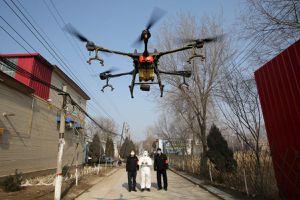 Trung Quốc huy động hàng loạt máy bay không người lái để chống dịch virus corona