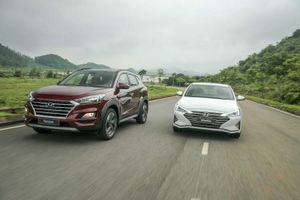 Mẫu xe Hyundai Tucson tăng trưởng ấn tượng trong tháng 1