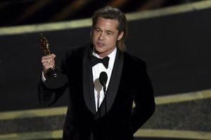 Oscar 92: Brad Pitt giành giải 'Nam phụ xuất sắc nhất'