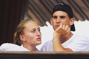 Dominic Thiem chia tay bạn gái người Pháp