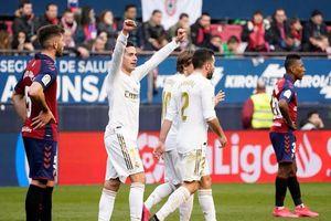 Hàng công bùng nổ, Real thắng hủy diệt Osasuna