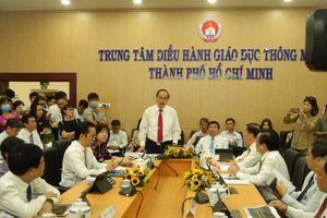 TPHCM ra mắt trung tâm điều hành giáo dục thông minh