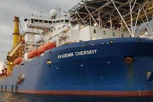 Tàu đặt đường ống Nord Stream-2 trên đường đến Baltic