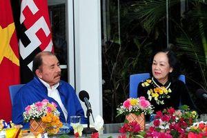 Việt Nam-Nicaragua tăng cường, thúc đẩy hơn nữa quan hệ hữu nghị, đoàn kết và hợp tác toàn diện