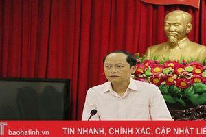 TP Hà Tĩnh: Chủ đề đại hội phải đảm bảo 5 thành tố và định hướng của Trung ương