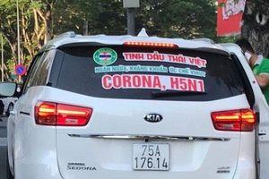Phạt tiền triệu doanh nghiệp quảng cáo tinh dầu ức chế Covid-19, H5N1