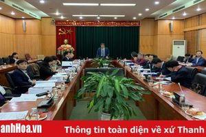 Thẩm định hồ sơ đề án thành lập thị xã Nghi Sơn và các phường thuộc thị xã Nghi Sơn