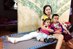 Một gia đình cần được giúp đỡ