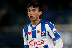 Văn Hậu được đăng ký cho trận Heerenveen gặp Vitesse