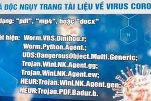 Hacker phán tán mã độc 'núp bóng' tài liệu về Covid-19