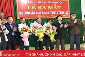 Ra mắt mô hình hội quán sản xuất dưa an toàn đầu tiên ở Hà Tĩnh